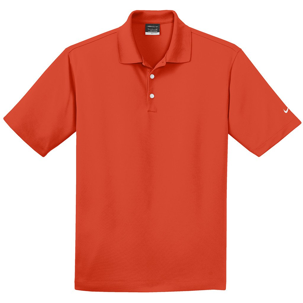 Nike Dri-FIT Micro Pique Polo (Team Orange)