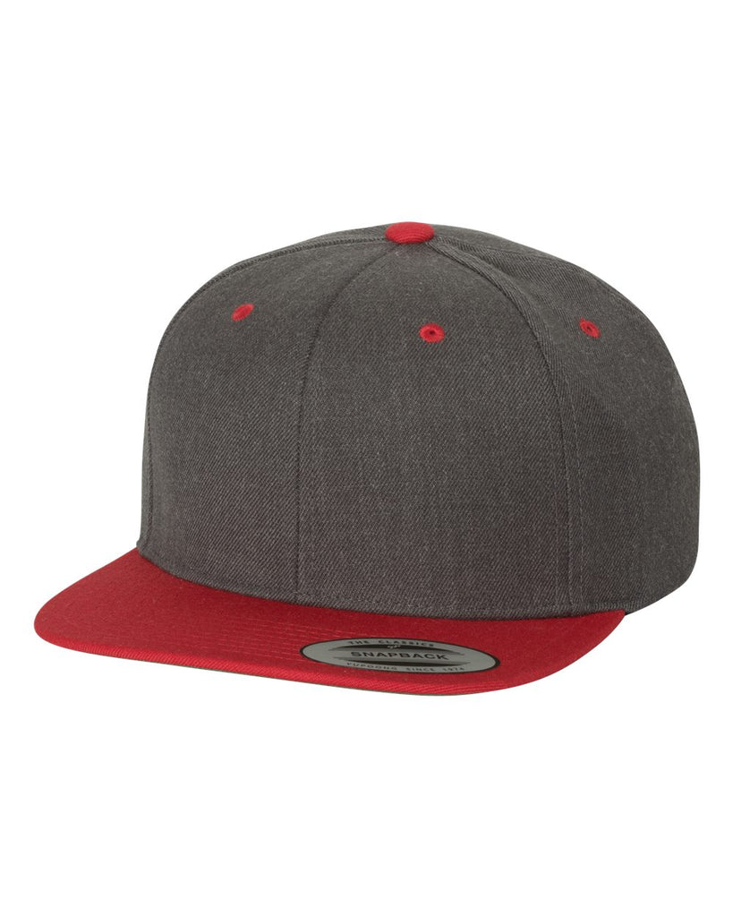6089M (Dark Heather/ Red)