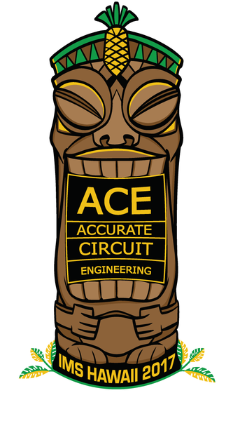 Accurate Circuit - Tiki Sticker