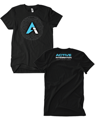 Active Integration - Blue Tee