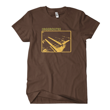 Aggrolites - Brown Keys Tee
