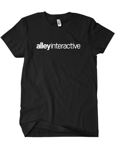 Alley Interactive - Logo Tee (Black)