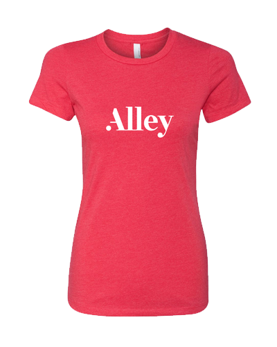 Alley Interactive - Red (Womens Tee)