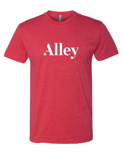 Alley Interactive - Red (Mens Tee)