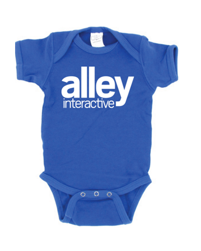Alley Interactive - Logo Onesie (Royal)