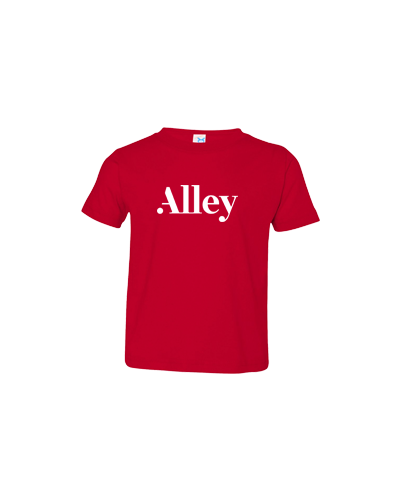 Alley Interactive - Red (Toddler Tee)