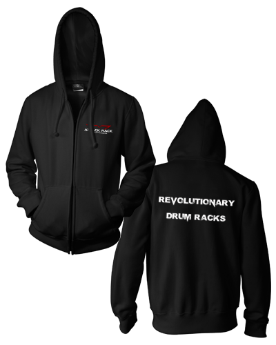 Attack Rack - Revolutionary Zip-Up Hoodie