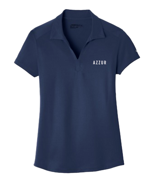 AZZUR -  Embroidered Womens Polo (Navy)