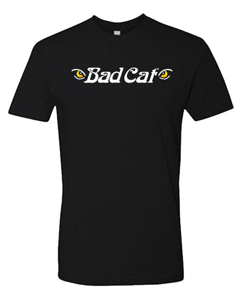 Bad Cat - Black Centered Logo Tee