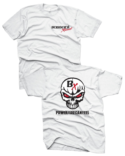 Bassani - Power You Can Feel (Logo Front) - White