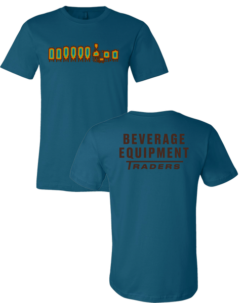 Beverage Equipment Traders - Logo T-Shirt (Deep Teal)