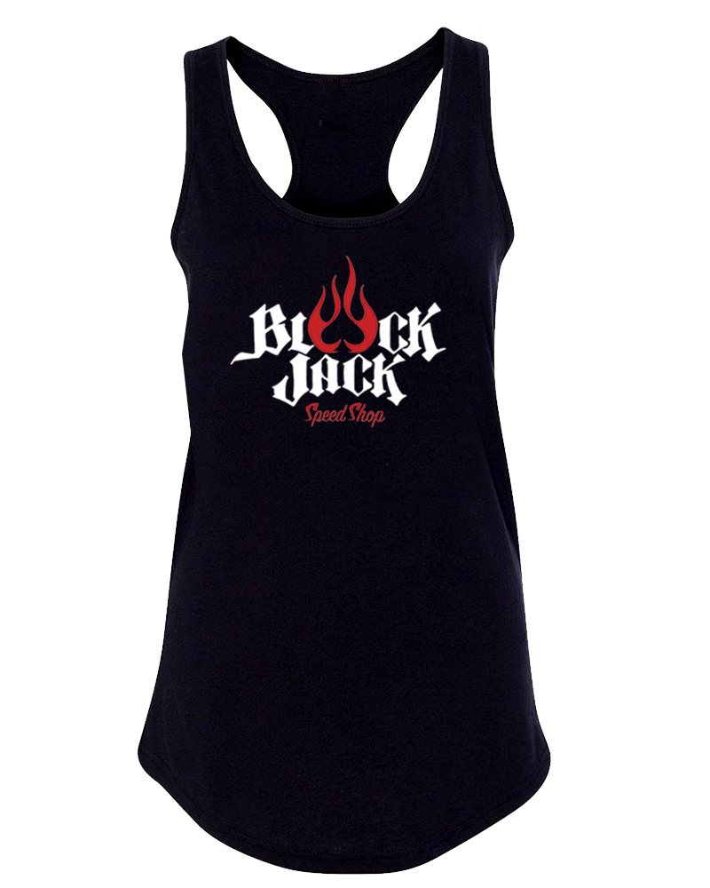 Black Jack Speed Shop - Tank Top Black