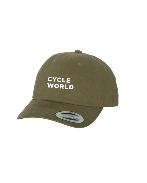 BONNIER - CYCLE WORLD DAD HAT (Loden - Yupoong)