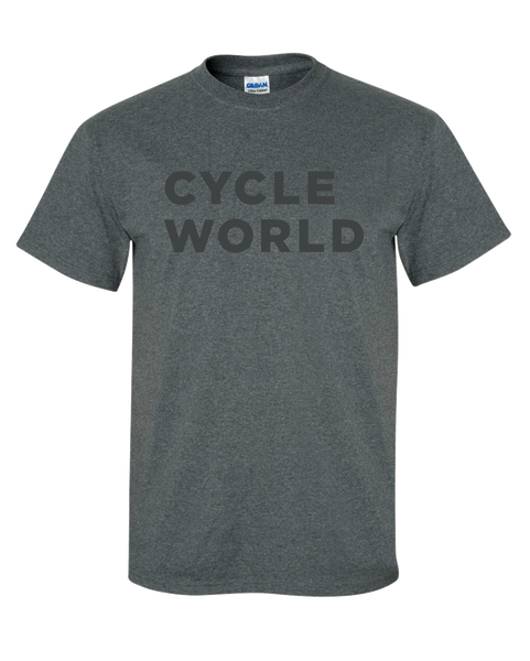 BONNIER - CYCLE WORLD T-SHIRT (Dark Heather)