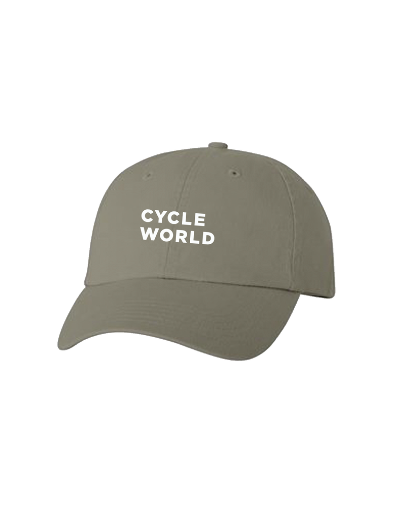 BONNIER - CYCLE WORLD DAD HAT (Olive - Valucap)