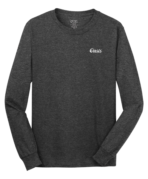 Oasis - Mens - Port & Company® - Long Sleeve Core Cotton Tee