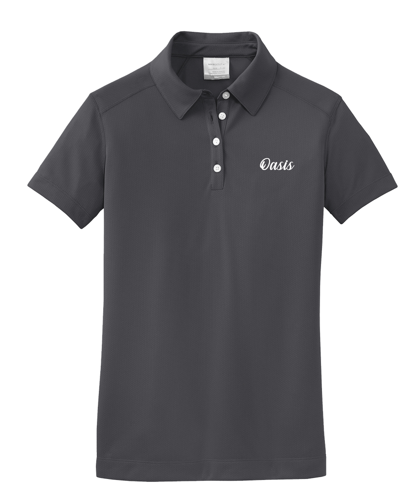 Oasis - Ladies - Nike Dri-FIT Pebble Texture Polo