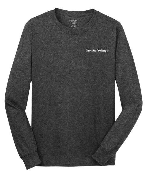 Rancho Mirage - Mens - Port & Company® - Long Sleeve Core Cotton Tee