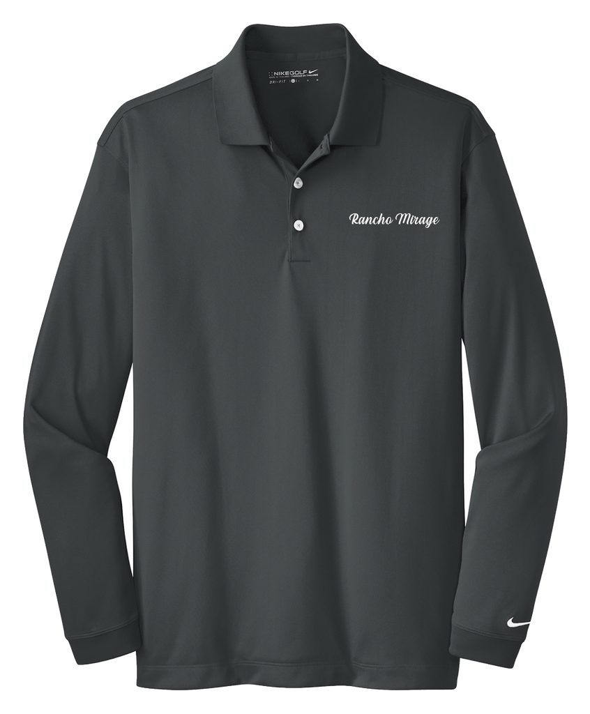 Rancho Mirage - Mens - Nike Long Sleeve Dri-FIT Stretch Tech Polo