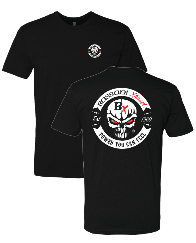 Bassani - Vintage Circle (Tshirt) - Black / Red
