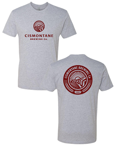 Cismontane - Logo Tee (Athletic Heather)