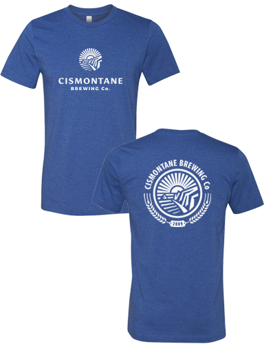 Cismontane - Logo Tee (Heather True Royal)