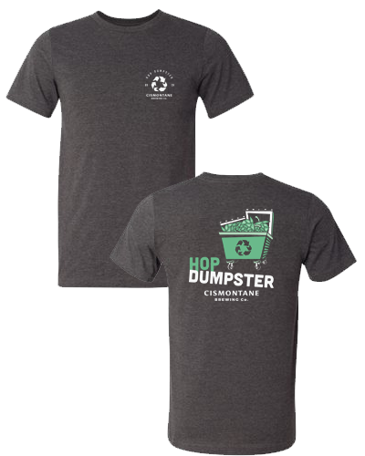 Cismontane - Hop Dumpster Tee (Dark Gray Heather)