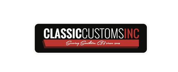 "Classic Customs - Patch 4.5"" Wide"