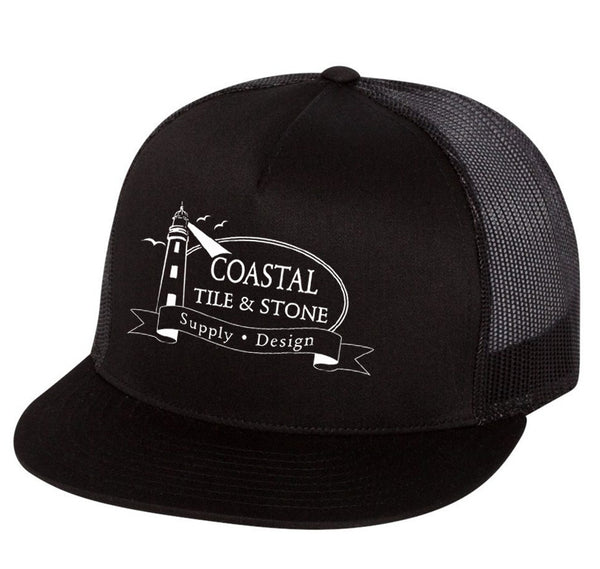 Coastal Tile & Stone - Trucker Hat (Black)