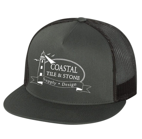 Coastal Tile & Stone - Trucker Hat (Grey/Black)