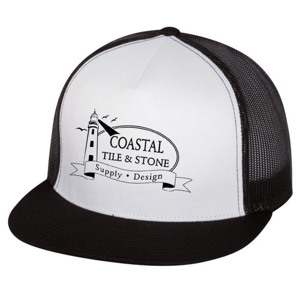Coastal Tile & Stone - Trucker Hat (White/Black)