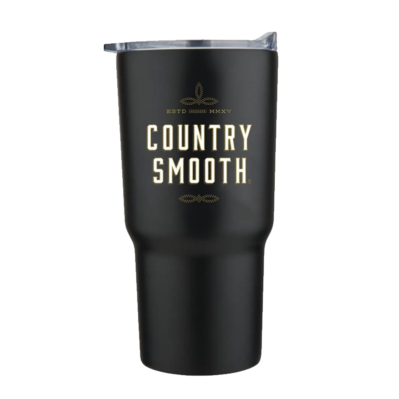 Country Smooth - 20oz Black Tumbler