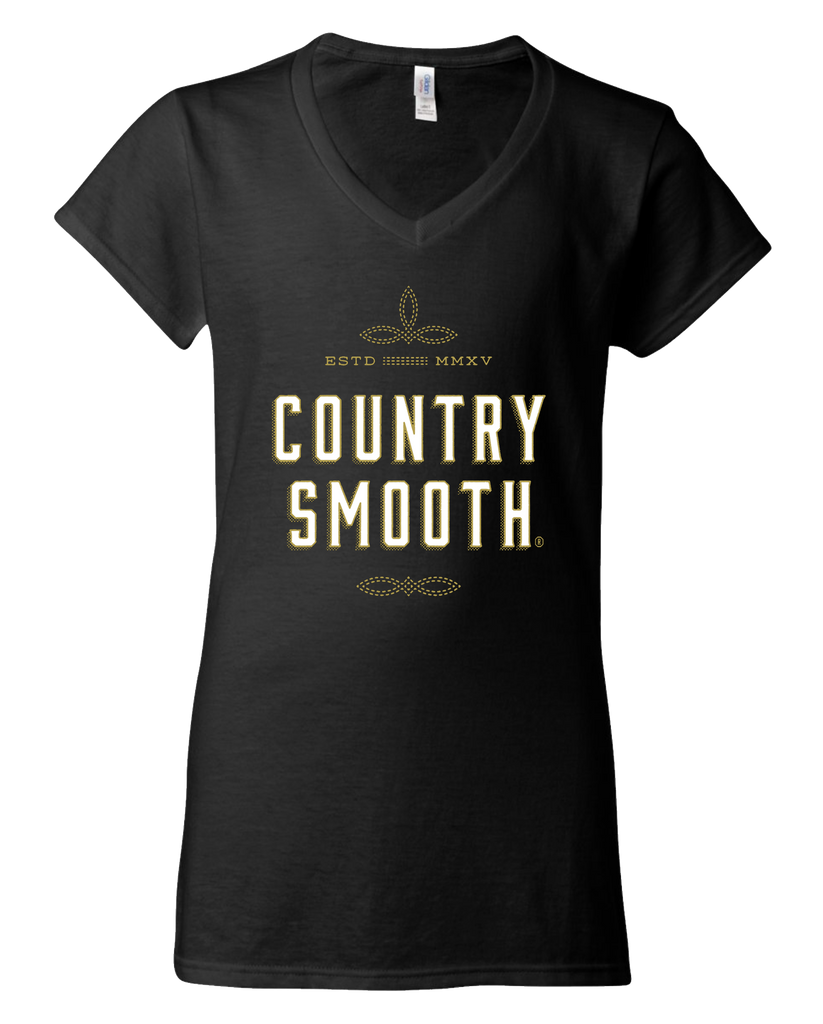 Country Smooth - Womens Vneck