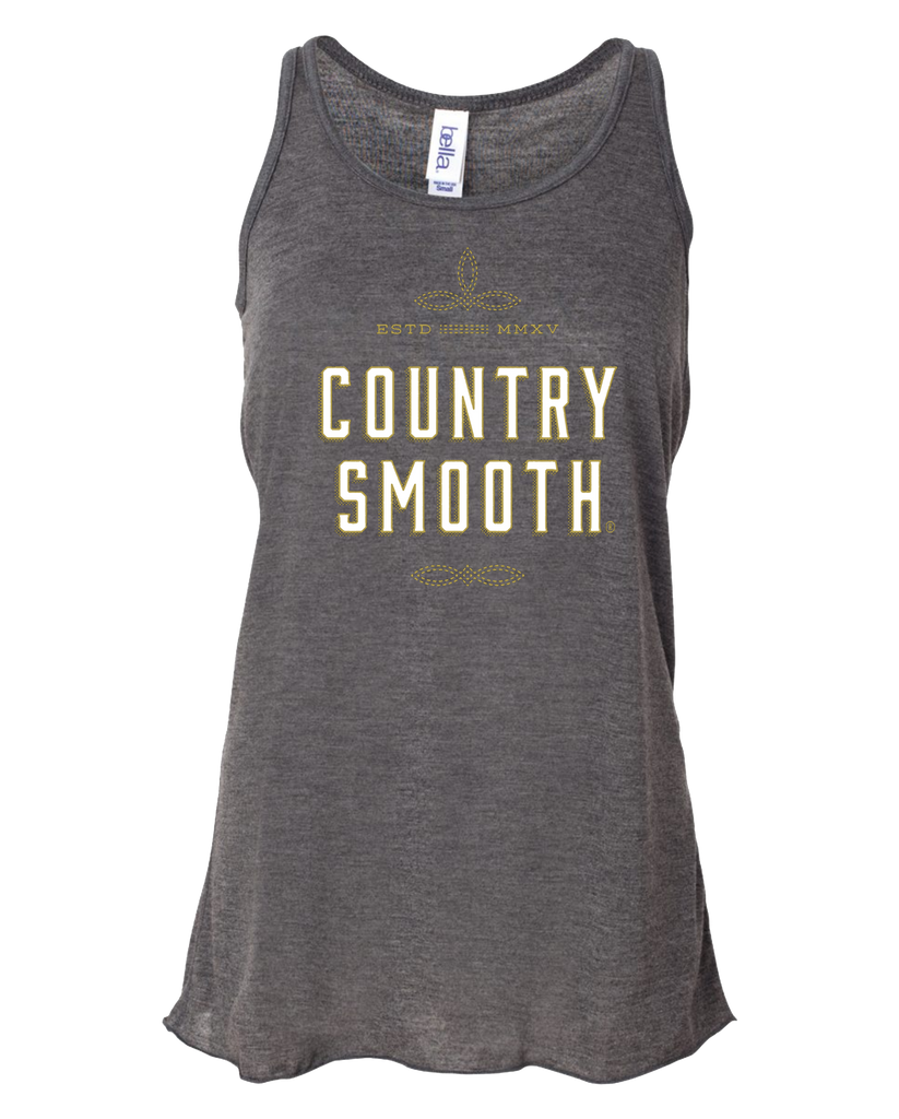 Country Smooth - Womens Flowy Tank