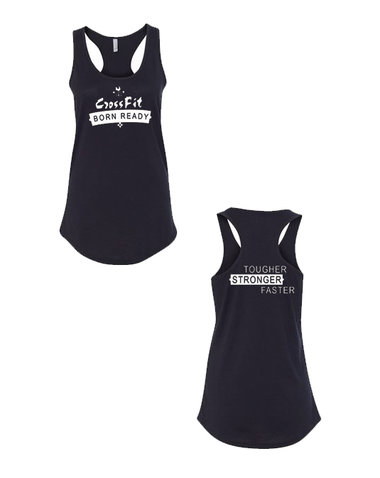 CFBR Ladies Tank (Banner Logo - White)