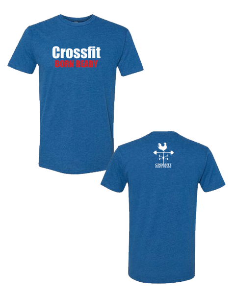 CFBR Triblend Tshirt (Crossfit - Red & White)