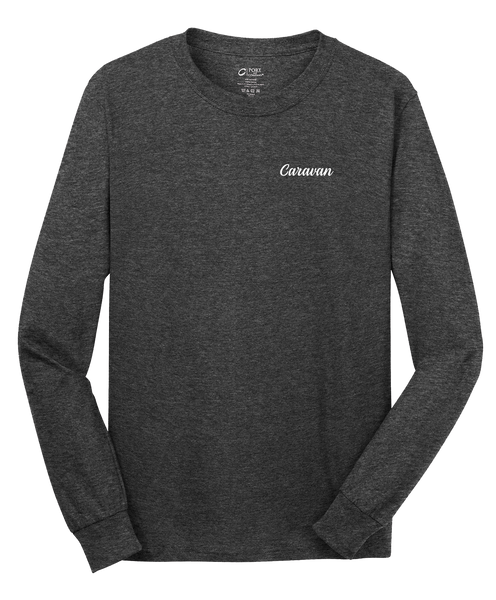 Caravan  - Mens - Port & Company® - Long Sleeve Core Cotton Tee