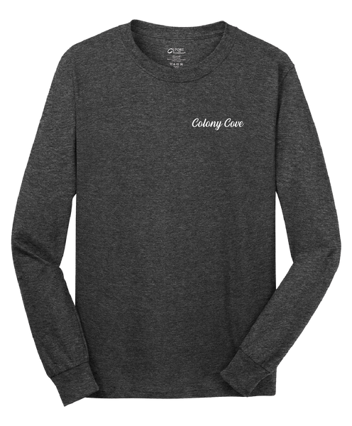 Colony Cove - Mens - Port & Company® - Long Sleeve Core Cotton Tee