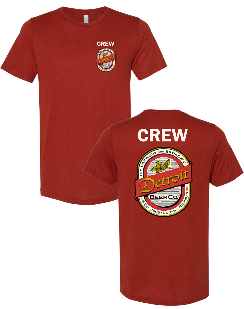 Detroit Beer Co. - Brick Crew - Mens/Unisex Tee