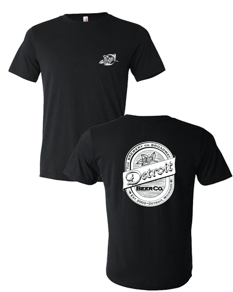 Detroit Beer Co. - D Emblem / Back Logo Tee