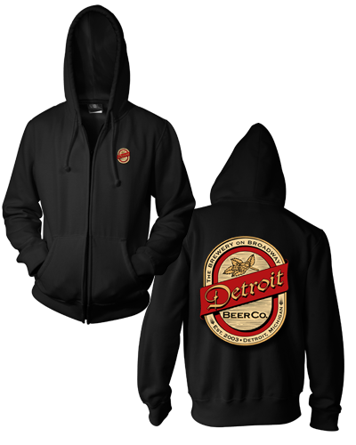Detroit Beer Co. - Zip Hoodie
