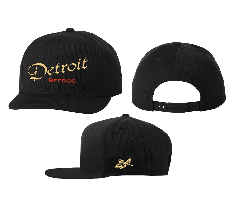 Detroit Beer Co. - Logo Snapback (Black)