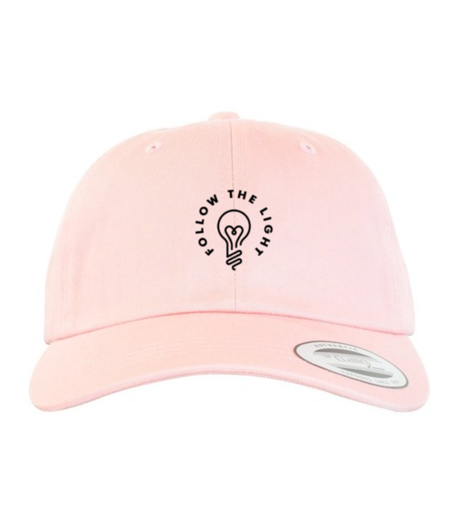 Follow The Light - Dad Hat (Pink)
