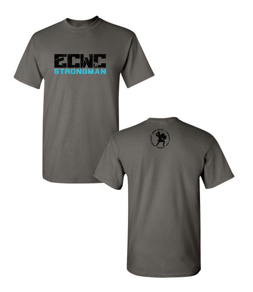 Men's ECWC Strongman Tee (Charcoal)