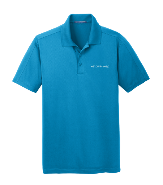 EDS - Port Authority® Diamond Jacquard Polo (BlueWake)