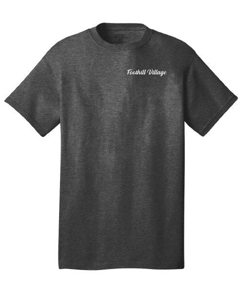 Foothill Village  - Mens - Port & Company® - Core Cotton Tee