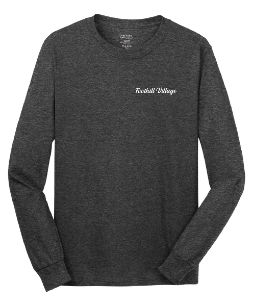 Foothill Village - Mens - Port & Company® - Long Sleeve Core Cotton Tee