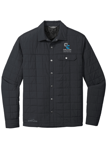 Galcon Construction - Eddie Bauer ® Shirt Jac (Black)