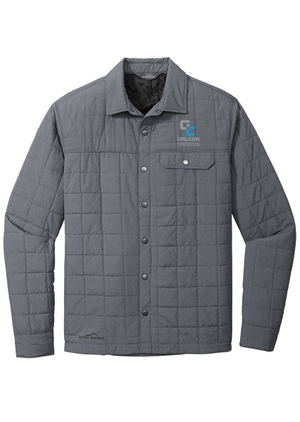 Galcon Construction - Eddie Bauer ® Shirt Jac (Gray)