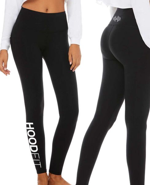 HoodFit - Leggings Black
